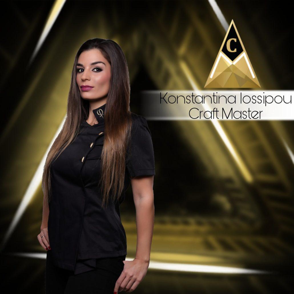 Royal Makeup Artist - Craft Master Konstantina Iossipou